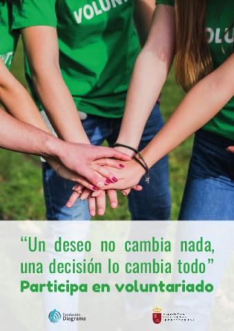 """Cartel """"Un deseo no cambia nada, una decisión lo cambia todo"""""""