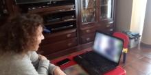 Voluntarios y voluntarias de Fundación Diagrama realizan videollamadas para apoyar a los menores del hogar 'Alácera' de Caudete (Albacete). Castilla-La Mancha 2020.